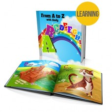 """From A to Z"" Personalised Story Book"