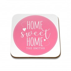 Home Sweet Home Square Coaster