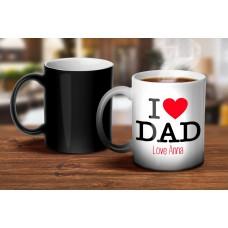 I Love Dad Magic Mug