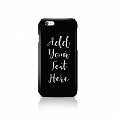 Add Your Own Message Apple iPhone Case