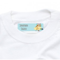 My Adventure - Playground Boy Iron On Clothing Label