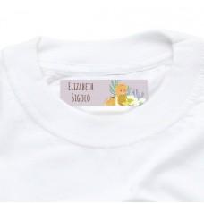 My Adventure - Reading Girl Iron On Clothing Label