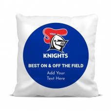 NRL Knights Classic Cushion Cover