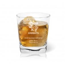 NRL Knights Tumbler Glass