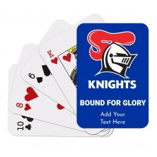 NRL Knights Playing Cards