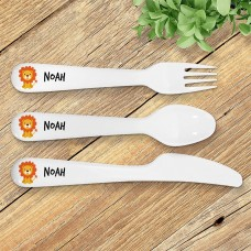 Lion Kids' Cutlery Set