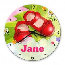 Magic Shoes Glass Wall Clock