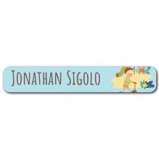 My Adventure - Playground Boy Mini Name Label