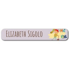 My Adventure - Playground Girl Mini Name Label