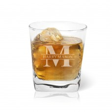 Monogram Tumbler Glass