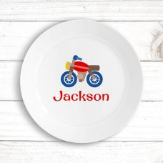Motorbike Kids' Plate