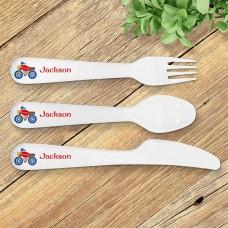 Motorbike Kids' Cutlery Set
