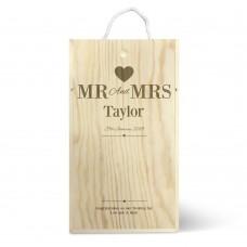 Mr & Mrs Double Wine Box