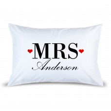 Mrs Pillow Case