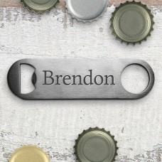 Name Bottle Opener