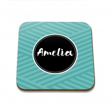 Name Square Coaster