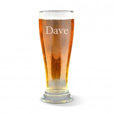 Name Premium Beer Glass