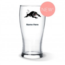 NRL Panthers Standard Beer Glass