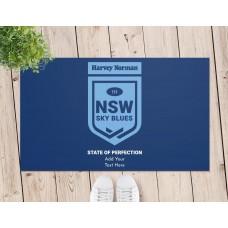 State of Origin NSW Door Mat