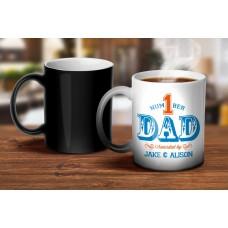 Number 1 Dad Magic Mug