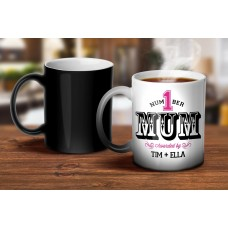Number 1 Mom Magic Mug