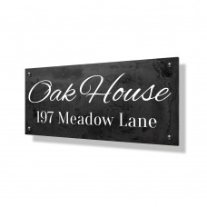 Oak House Business Sign