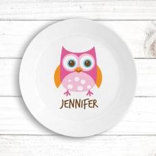 Owl Kids' Plate