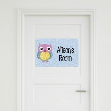 Owl Door Sign