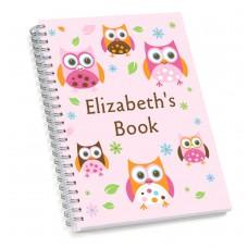 Owl Sketch Book