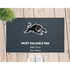 NRL Panthers Door Mat