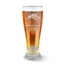 NRL Panthers Christmas Premium Beer Glass