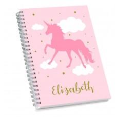 Pink Unicorn Sketch Book