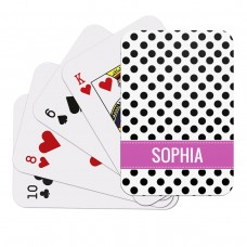 Polka Dot Playing Cards