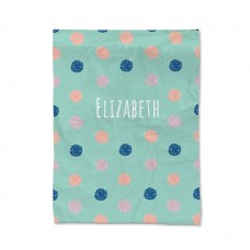 Pom Pom Pattern Blanket