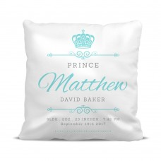 Prince Crown Cushion Cover