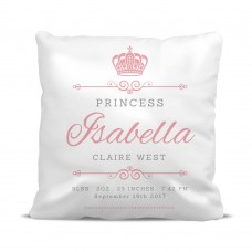 Princess Crown Cushion Cover