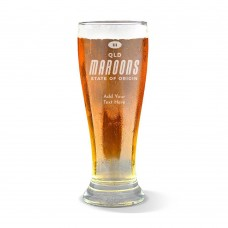 State of Origin QLD Premium Beer Glass