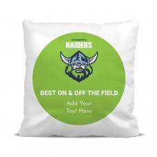 NRL Raiders Cushion Cover