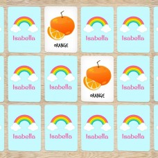 Rainbow Memory Cards