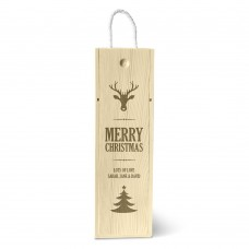 Reindeer Single Wine Box