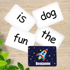 Rocket Sight Word Cards