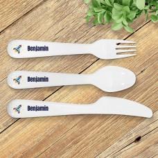 Rocket Kids' Cutlery Set