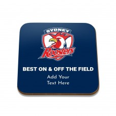NRL Roosters Square Coaster
