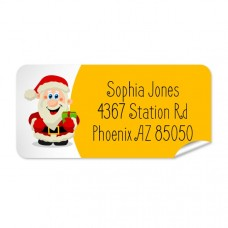 Santa Return Address Label