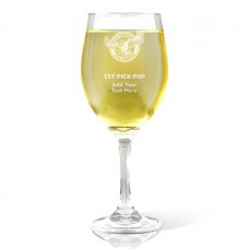 NRL Sea Eagles Father's Day Wine Glass