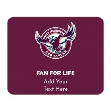 NRL Sea Eagles Mouse Mat