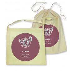 NRL Sea Eagles Library Bag