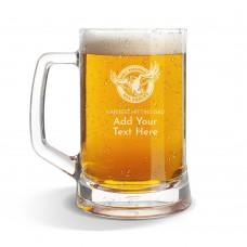 NRL Sea Eagles Glass Beer Mug