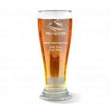 NRL Sharks Christmas Premium Beer Glass