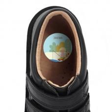 My Adventure - Fishing Boy Shoe Dot Label